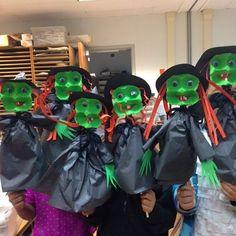 Egg Carton Witch Puppets (from Kathi Arinduque, Art Teacher @zamoranoelementaryart on Instagram)