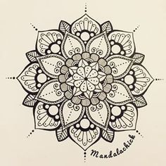 mandala-a-colorier-facilement-24 #mandala #coloriage #adulte via dessin2mandala.com