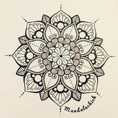 mandala-a-colorier-facilement-24 #mandala #coloriage #adulte via dessin2mandala.com
