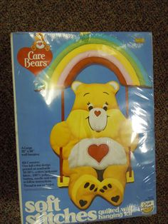 Its been over 30 years now that Tender-heart Bear has been waiting for someone to take him home and create a wonderful quilted wall hanging for a