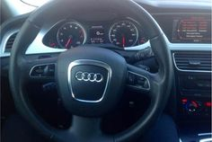 Feeler: 2009-2012 Audi A3 A4 A5 Q5 B8 (8K) Sport Steering wheel with Airbag and Paddles