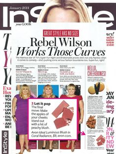 Looking for the perfect blush color? @ In Style magazine featured their fave's and we spot Avon True Color Luminous Blush for only: $11.00 Get yours today online at www.youravon.com/my1724 free shipping and 10% off use coupon code: WELCOME10 #AVON #PRODUCTS #SHOPONLINE #GIFTS