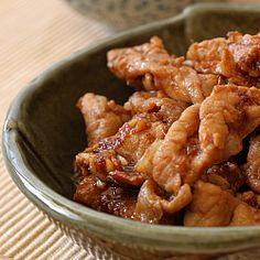 Pan Fried Ginger Pork - One of my favourite Japanese recipes for Pork - best served with steaming white rice.