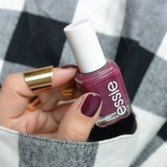 Deep purple goes with anything.
