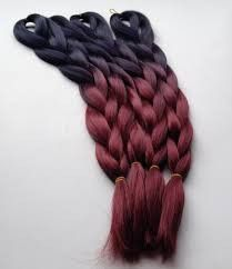 Urban Goddess Synthetic Ombre Jumbo Braid  (Kanekalon, Synthetic Hair, Braiding Hair, Ombre Braiiding Hair)