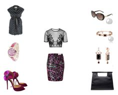 """""""Untitled #622"""" by panicsam ❤ liked on Polyvore featuring Preen, Topshop, Chanel and Christian Louboutin"""