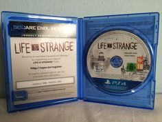 Life is Strange game opened.