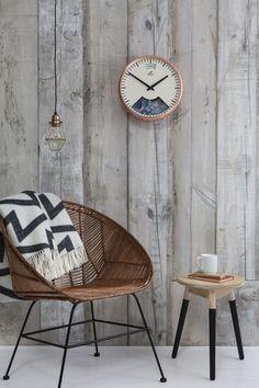 Bramwell Brown Copper Weather Wall Clock (Barometer). Fika - pause time during the day to enjoy coffee and a pastry!