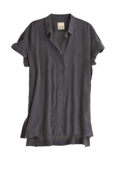 Silk Short Sleeve Top