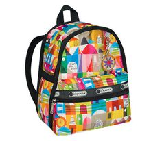 "Mary Blair SMALL WORLD LeSportSac Backpack for ""Little Sister""!!! I want this SO BAD for her! We can fill it up with toys and such to give her when we go get her!!"