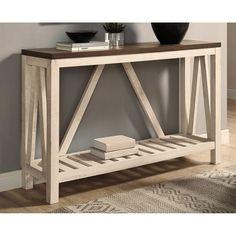 Zoom on kitchen trends 2018 - My Romodel Decor, Farmhouse Furniture, Home Decor Furniture, Furniture, Table, Home, Console Table, Home Decor, Entry Console Table