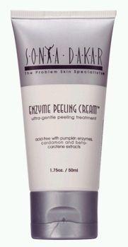 Sonya Dakar Enzyme Peeling Cream 1.75 oz. - http://www.specialdaysgift.com/sonya-dakar-enzyme-peeling-cream-1-75-oz/