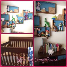 Baby girls Toy Story Room! Who says Toy Story is just for boys! Lol