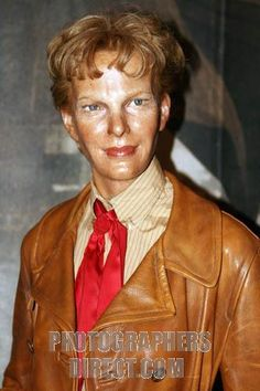 Madame Tussauds Original Wax Figures | Amelia Earhart Celebrity wax figure at Madame Tussauds Wax Museum at ...