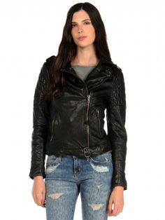 Muu Baa Muubaa Nido Quilted Biker Jacket on shopstyle.com