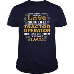 (Tshirt Order) Awesome Tee For Tractor Operator [Tshirt design] Hoodies Tee Shirts