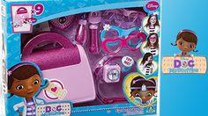 Eye doctor bag set | unprepared home funny video for kids | doctor toys