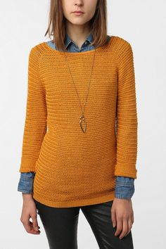 love layers and mustard yellow