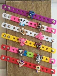 Littlest Pet Shop PARTY FAVORS Charm Bracelets by SuperMommyShop
