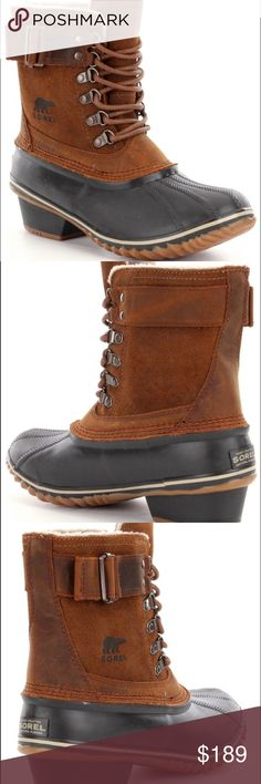 Sorel Fancy Lace II Waterproof Boot New with tags and in original box Sorel Shoes Winter & Rain Boots
