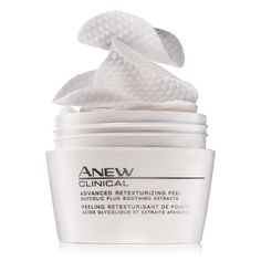 Avon Anew Clinical Advanced Retexturizing Peel #skincare #anitaging #facialpeel