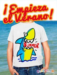 ¡Empieza el Verano! Crea tus camisetas más bestiales con PLAYCOLOR TEXTIL y marca tendencia!