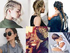 Hip hop braids fashion in da hat Softball Hair Braids, Softball Hairstyles, Prom Hairstyles, Hip Hop Hair Styles, Curly Hair Styles, Messy Bun With Braid, Braided Buns, Messy Buns, Baile Hip Hop