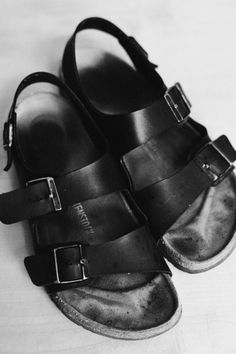 Birkenstock Knows Its Shoes Look Best When They re Really Worn In 8b049bdcff3