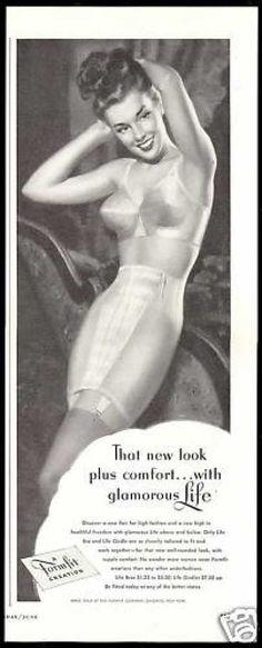 Formfit High Fashion Bra Girdle Lingerie (1948)