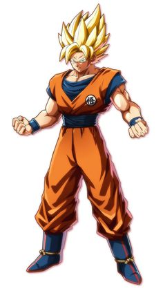 Goku from Dragon Ball FighterZ