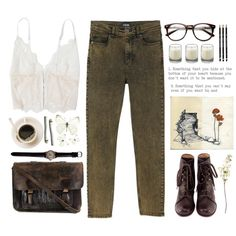 Secret Garden by angelloch on Polyvore featuring Mode, Monki, Lonely, Chie Mihara, Priestley's Vintage, Le Labo, OKA, casual, simple and organic