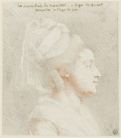 """Anne D'Arpajon, Countess of Noailles. Called """"Madame Etiquette"""" by Marie Antoinette"""