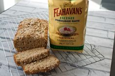 If you are looking for delicious, nutritious and wheat free bread my clean eating oat bread is the perfect choice. Tastes amazing and so easy to make. #vegan #cleaneating #healthy #dairyfree #nutfree