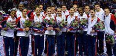 Team USA Gymnastics Olympics Team 2012