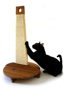 Beautiful cat scratcher design. #cats #CatScratcher