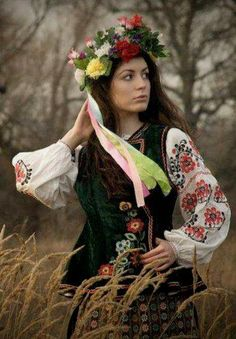 Les vêtements traditionnels Ukrainiens