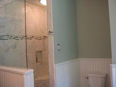 Beadboard Paneling Bathroom | 18 Photos of the How to Install Wainscoting Bathroom