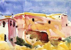 The Athenaeum - Sevilla No. 1 (Charles Webster Hawthorne - )