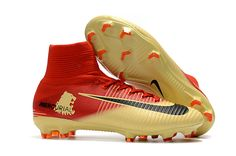 promo code 5a0f5 9846a NEW Nike Mercurial Superfly V Boots   Nike Mercurial Superfly V X Lannister  FG Red Gold Black
