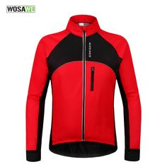 5351ef6d3 WOSAWE New Thermal Cycling Jackets Winter Warm Up Bicycle Clothing  Windproof Waterproof Sports Wear MTB Bike Jersey-in Cycling Jackets from  Sports ...