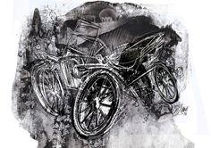 """""""Los hijos de los días"""" - Galeano ilustrado por Casciani 11/1 . acá podés leer el texto: http://andrescasciani.blogspot.com.ar/2016/01/los-hijos-de-los-dias-galeano-ilustrado_11.html"""
