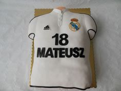 Tort t-shirt real madryt