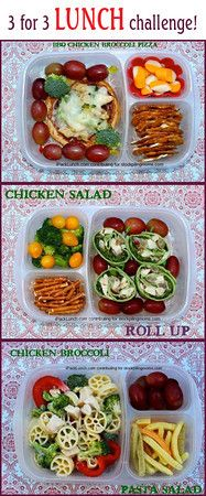 More about these lunches here: Same ingredients, 3 lunches