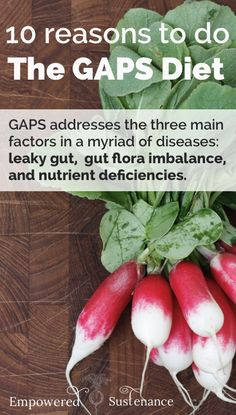 The GAPS Diet may be the solution you've been waiting for! Plus tips and resources for getting started #health #GAPSdiet #detox