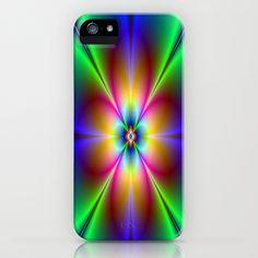 Neon Daisy iPhone  iPod Case