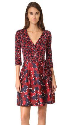 Diane von Furstenberg Jewel Wrap Dress | SHOPBOP