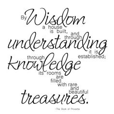 Proverbs 24:3   Building a peaceful home with a teenager a preteen a 9 yr old oh and a baby on the way is bit challenging, but not impossible with Gods wisdom!