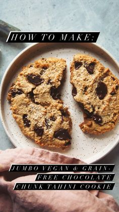 Gluten Free Cookies, Gluten Free Baking, Vegan Baking, Gluten Free Desserts, Healthy Baking, Healthy Food, Almond Recipes, Paleo Recipes, Sweet Recipes