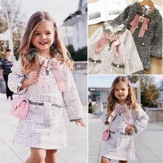 Be elegant with a heart with this super cute outfit ready to shine among the crowd. Girls Formal Dresses, Cute Dresses, Cute Outfits, Spring Dresses, Spring Outfits, Spring Clothes, Plaid Fashion, Kids Fashion, Formal Dress Patterns