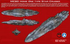 MC80 Home One type star cruiser ortho [New] by unusualsuspex on DeviantArt